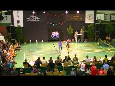 Natalie Riedel & Sarah Schneider - Via Claudia Cup 2011
