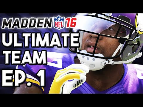 Madden 16 Ultimate Team Ep.1 - Team Intro & First H2H Game!