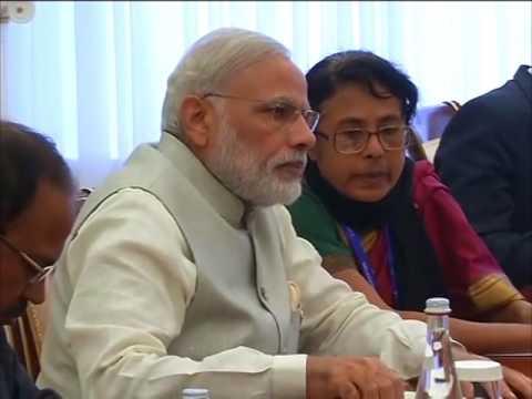 Indian PM Modi holds bilateral talks with Russia's Putin in Tashkent