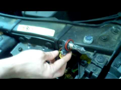 3 Series E90 Drl And Halo Bulb Replacement Day Time