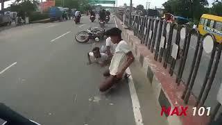 Live Accident in Jaipur India