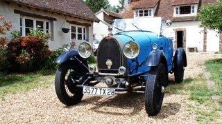 Libertivi.com - Mécaniques d'Antan - Bugatti type 40 de 1928
