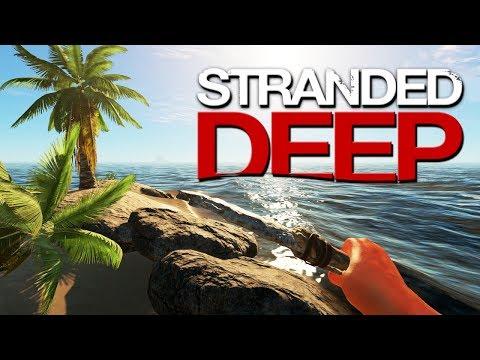 Выживание в Stranded Deep | Начало выживания #1