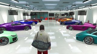 GTA 5 PC Mods - Single Player Garage - Loaded Full Of Cars!