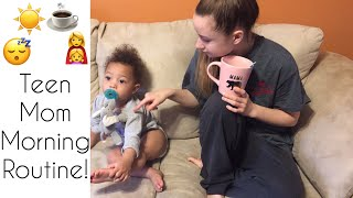 Teen Mom Morning Routine!