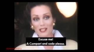 CAMPARI DRINK TV ADVERT  LORRAINE CHASE  THAMES TELEVISION HD 1080P