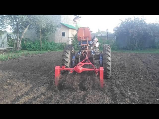 Культиватор на трактор т-25 своими руками