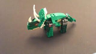 Lego Speed Build - Triceratops