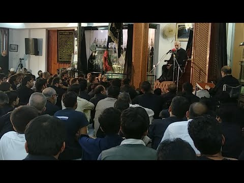 Majlis No.08 - Allama Muntazir Abbas Naqvi - 2019