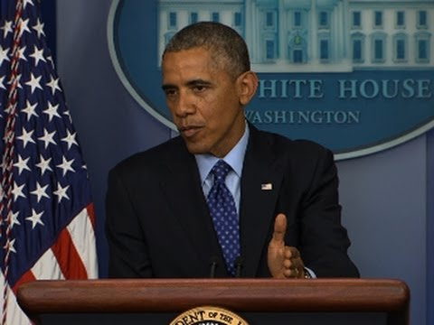 Obama Lays Out US Plan for Iraq Intervention