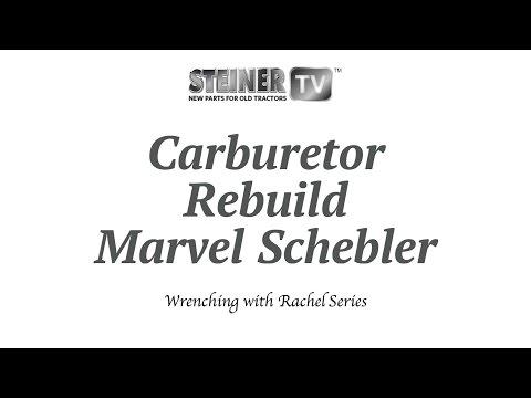 Marvel schebler Carb Rebuild