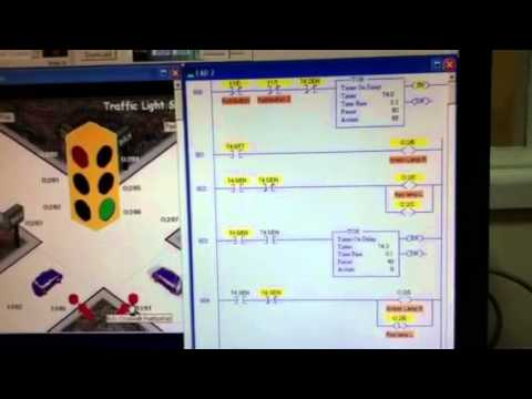Logix pro 500 traffic light simulator exercise 2. PART 1