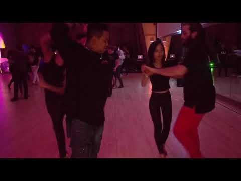 V10 UKDC DJ-KAKAH XMAS Social Dance Party ~ video by Zouk Soul