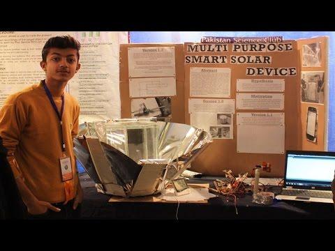 Multi Purpose Smart Solar Device