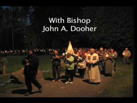 Rosary Procession Xaverian Fatima Shrine, Holliston, MA