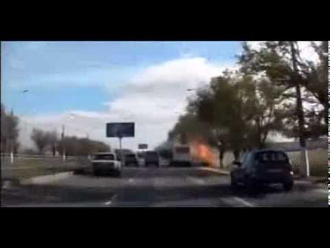 Terrorist Suicide bombing of bus in Volgograd