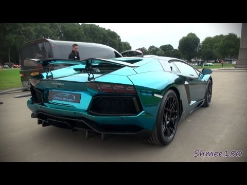 Lamborghini Aventador LP760-4 Dragon Edition - Startups, Revs, Overview