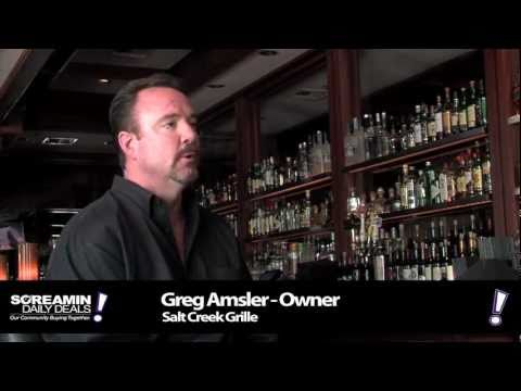 Restaurant Marketing Ideas: Salt Creek Grille Screamin Daily Deals Merchant Testimonial