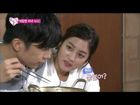 【TVPP】Wooyoung(2PM) - Share One Ramyon Together, 우영(투피엠) - 라면 하나도 나눠먹는 우리는 부부 @ We Got Married
