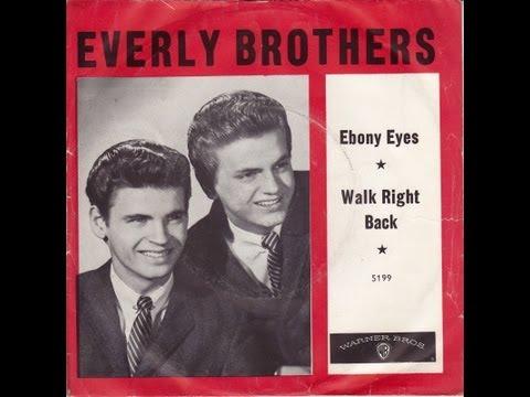 The Everly brothers ~ Ebony Eyes [ A Tear Jerker ]