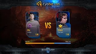 StarCraft 2 LotV Cybbet Race Wars 2016 Day 5 Match 4: Bly vs Major