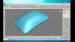 Architectural tutorial on 3ds Max - Pillow