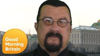 VIDEO: Steven Seagal Calls NFL Protests 'Disgusting' - Good Morning Britain