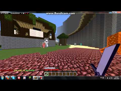 Minecraft-Server Review:Kit Rage{Cracked 1.7.4}