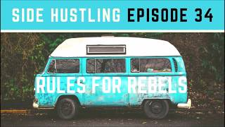Side Hustling Ep. 34: Profitable Business Selling Headbands and Hair Ties for Men With Long Hair