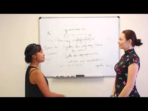 Teaching each other to speak Russian and Malagasy