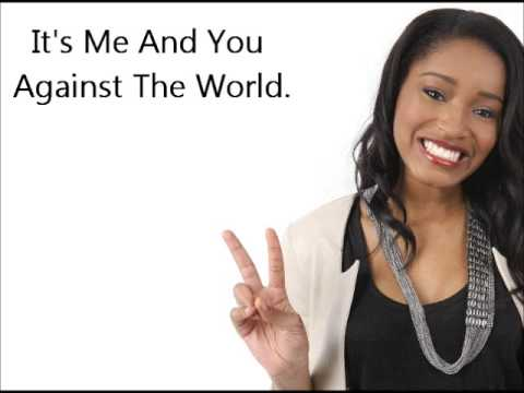 Max Schneider & Keke Palmer - Me And You Against The World Lyrics video