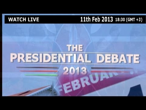Kenya Presidential Debate 2013 [Full Video]