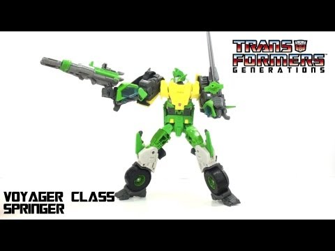 Video Review of the Transformers Generations: Springer