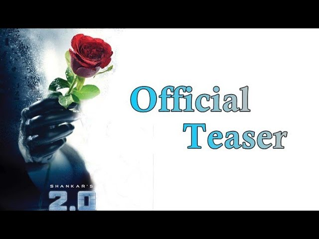 2.0 - Official Teaser release Date | Rajini | Akshay kumar | Shankar | Vijay62 | Thala58