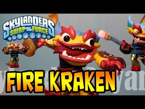 Fire Kraken (Skylanders Swap Force) New Fire Swapper Toy