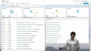Ariba Sourcing with New UI - Demo of basic functionalities
