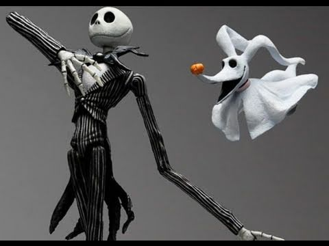 Kingdom Hearts 2 Play Arts Jack Skellington Action Figure Toy Review