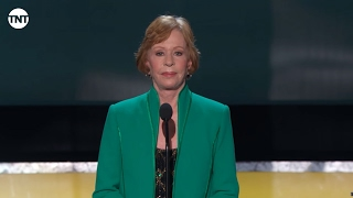 Carol Burnett I SAG Awards Lifetime Achievement 2016 I TNT