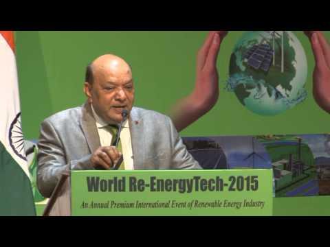 Dr. Anil K. Garg, President, World Renewable Energy Technology Congress & Expo