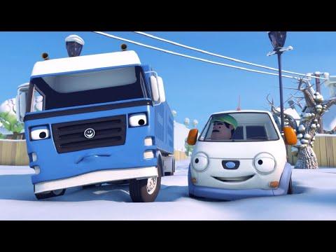Олли Веселый грузовичок - Мультфильм про машинки - Серия 13 - Зоопарк на холме (Full HD)