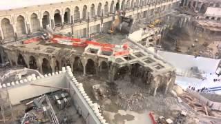 proyek pembangunan masjid al_haram 2013.mekkah saudi arabia