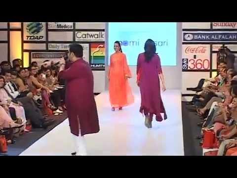 Nomi Ansari  Fashion Pakistan Week Spring  Summer 2012 video