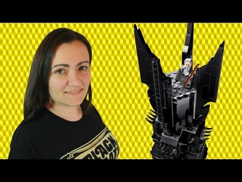 LEGO Tower of Orthanc 10237 Lord of the Rings Review