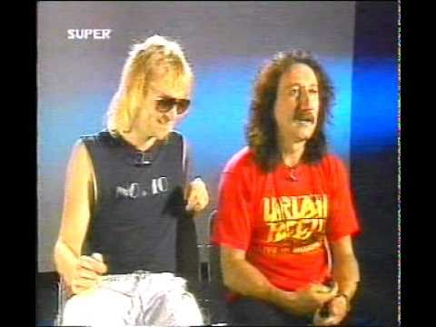 Uriah Heep Interview Super Channel 1988 (Easy Livin live)