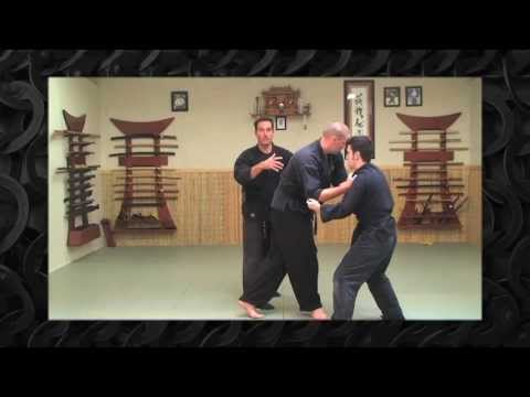 Ninjutsu Defense Against Multiple Attackers - Bujinkan Training Image 1