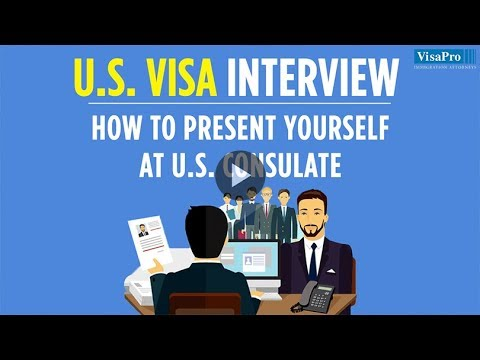 US Visa Interview: How to present yourself at US Consulate
