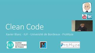 Clean Code - Java User Group - Bordeaux