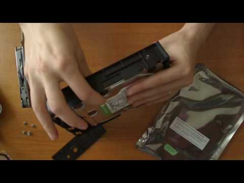 How to open Lacie usb-harddrive casing