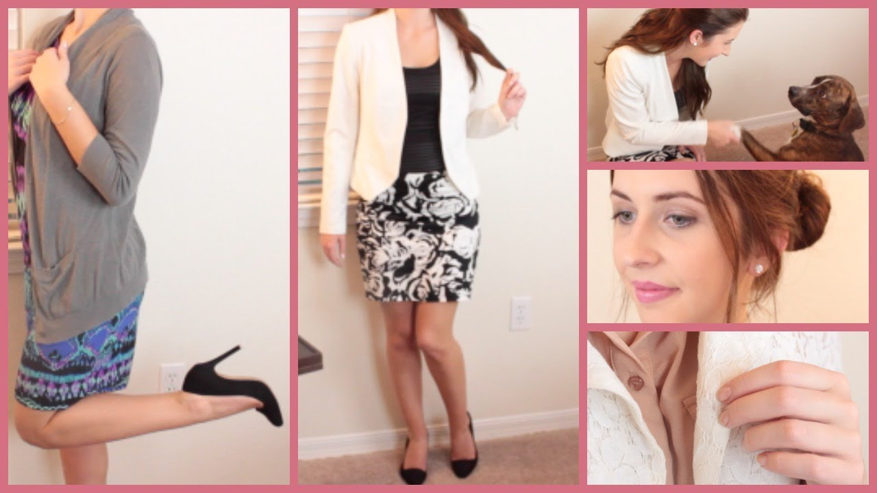 job interview outfits for teens courtney lundquist youtube