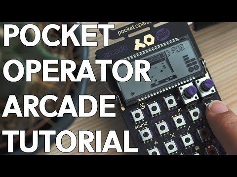 Pocket Operator Arcade Tutorial - For Beginners!